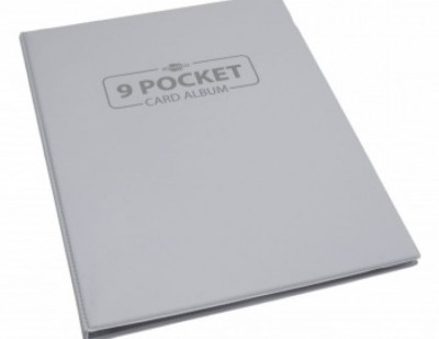 9-Pocket Card Album - White