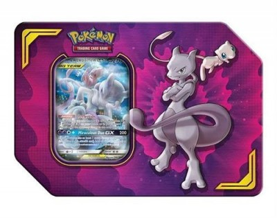 Tag Team Power Partnership Tin - Mewtwo & Mew