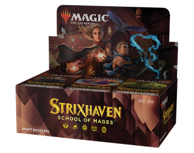 Strixhaven Draft Boosterbox ENG