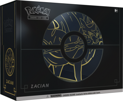 Sword & Shield Elite Trainer Box PLUS - Zacian