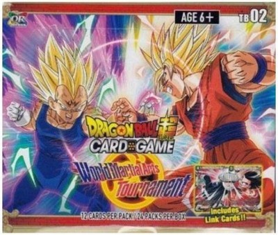 DragonBall World Martial Arts Tournament Boosterbox