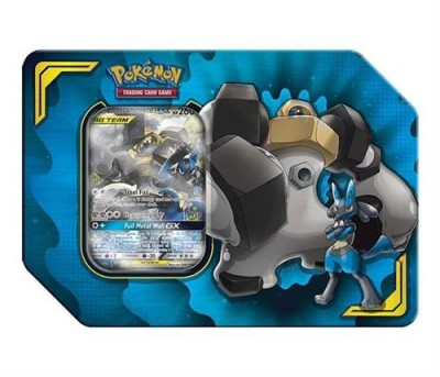 Tag Team Power Partnership Tin - Lucario & Melmetal