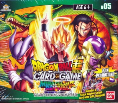 DragonBall Super Card Game - Boosterbox 5 Miraculous Revival