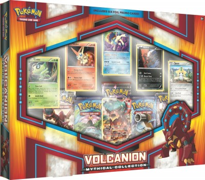Volcanion Mythical Collection Box