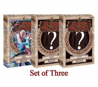 Flesh & Blood Tales Of Aria Blitz Decks Set of 3!