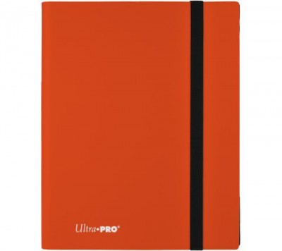 Ultra Pro Binder 9-Pocket Pumpkin Orange