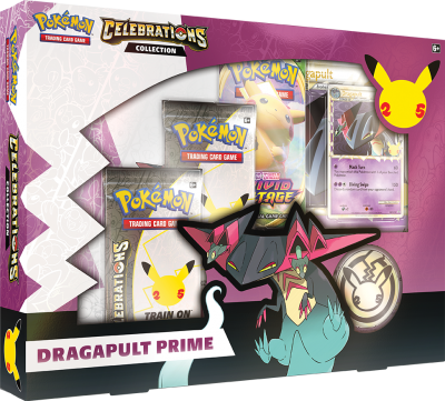 25th Celebrations Collection - Dragapult Prime