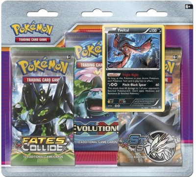 Yveltal 3-Pack Blister