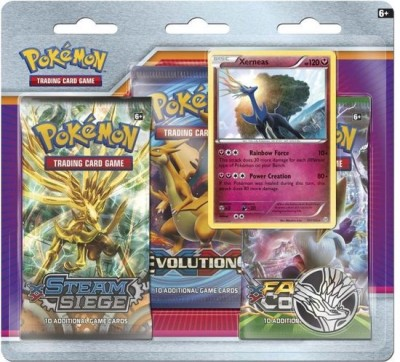 Xerneas 3-Pack Blister