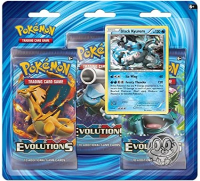 XY12 Evolutions 3-Booster Blister - Black Kyurem