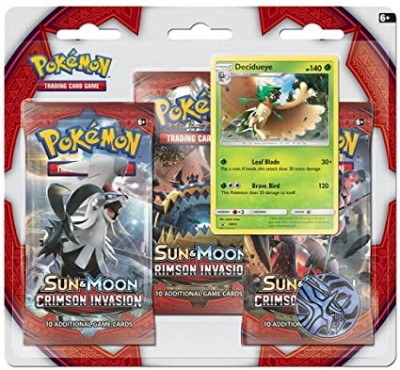 Sun & Moon Crimson Invasion 3- booster blister - Decidueye