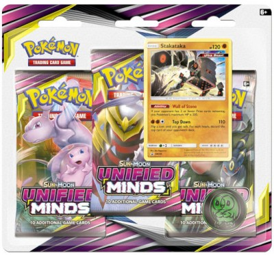 Sun & Moon Unified Minds 3-booster Blister Stakataka