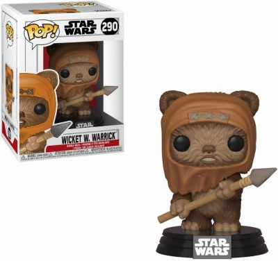 Funko POP! Star Wars: Wicket Vinyl Figure 10cm