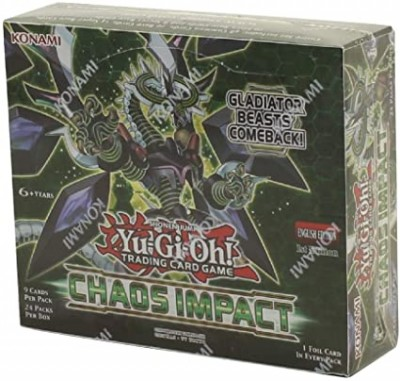 Yu-Gi-Oh Chaos impact boosterbox