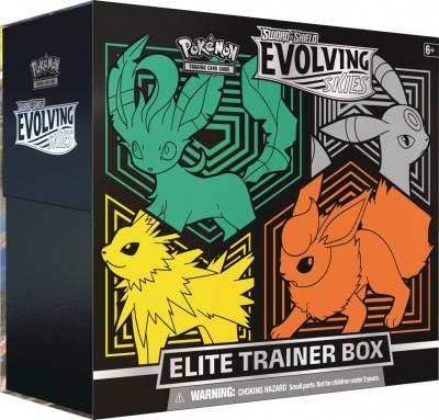 Evolving Skies Elite Trainer Box (LUJF)
