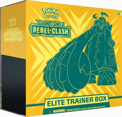 Sword & Shield Rebel Clash Elite Trainer Box
