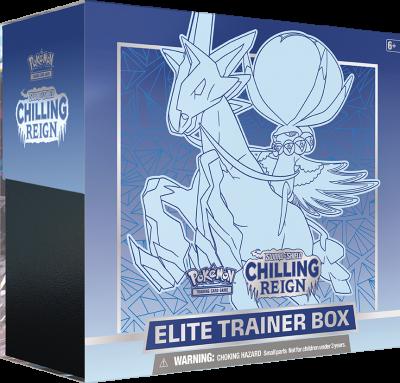 Sword & Shield Chilling Reign Elite Trainer Box Blauw