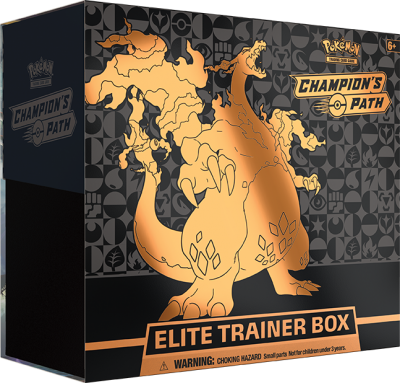 SWSH Champion's Path 3.5 Elite Trainer Box