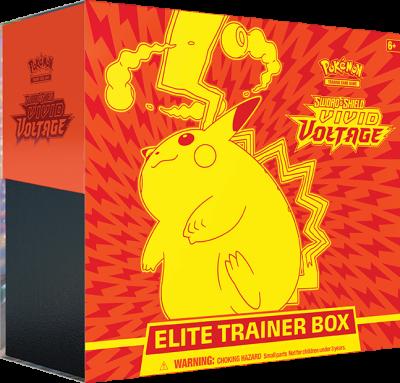 Sword & Shield Vivid Voltage Elite Trainer Box