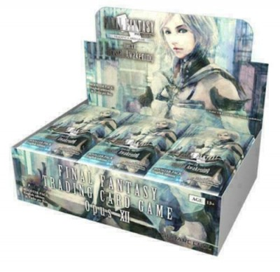Final Fantasy Opus ENG XII Crystal Awakening Boosterbox (36 Packs)
