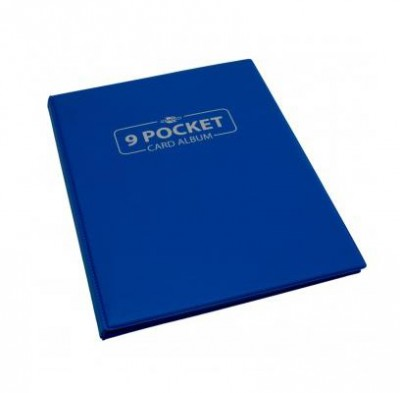 9-Pocket Card Album - Blauw