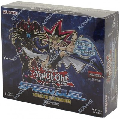Yu-Gi-Oh - Speed Duel Trials of Kingdom - Booster Display (36 Boosters)