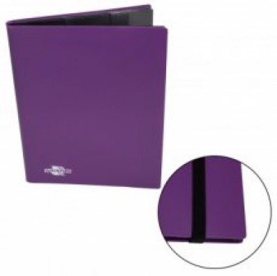 Flexible Album 9-Pocket - Purple