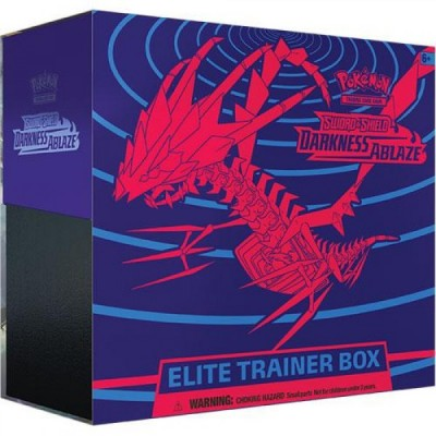 SWORD & SHIELD DARKNESS ABLAZE ELITE TRAINER BOX CASE (10stuks)