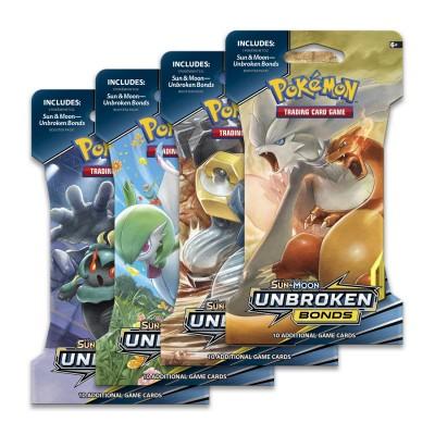 Sun & Moon Unbroken Bonds Sleeved Booster Pack