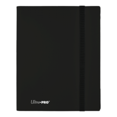 Ultra Pro 4-pocket Binder Eclipse - Jet Black