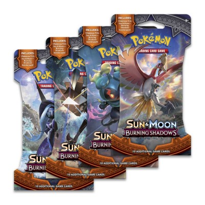 Burning Shadows Sleeved Boosters
