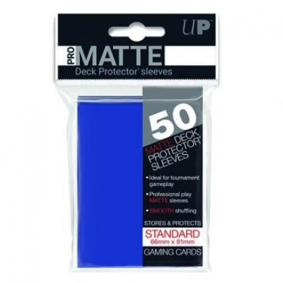 Ultra Pro Sleeves Matte Blue Standard (50st)