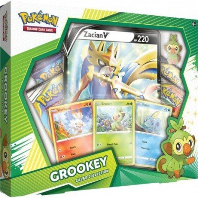 Galar Collection Box - Grookey / Zacian V
