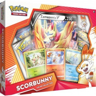 Galar Collection Box - Scorbunny / Zamazenta V