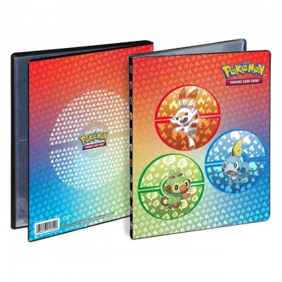 Portfolio 4-pocket Sword & Shield Galar Starters