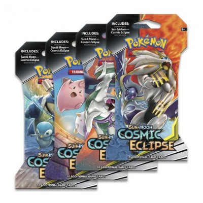 Sun & Moon Cosmic Eclipse Sleeved Booster Pack