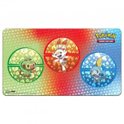 Sword & Shield Galar Starters Playmat