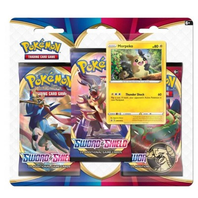 Sword & Shield 3-Booster Blister - Morpeko