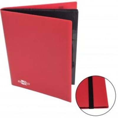 Flexible Album 9-Pocket - Red