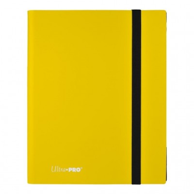 Ultra Pro Binder 9-Pocket Lemon Yellow