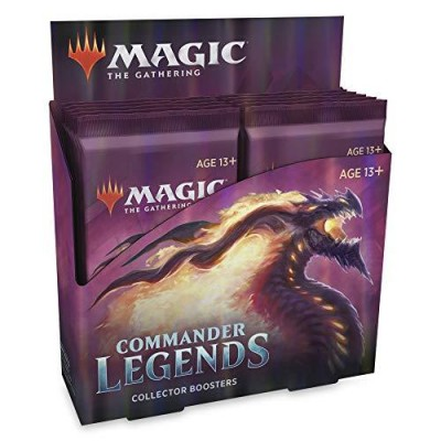 Commander Legends Collector Booster Display