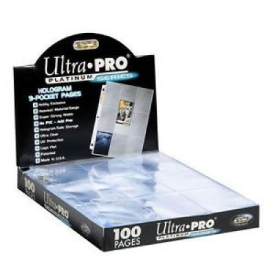 Ultra Pro 9-Pocket Pages Platinum