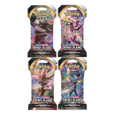 Sword & Shield Rebel Clash Sleeved Booster Pack