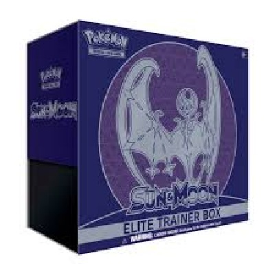 Sun & Moon Base Elite Trainer Box - Lunala