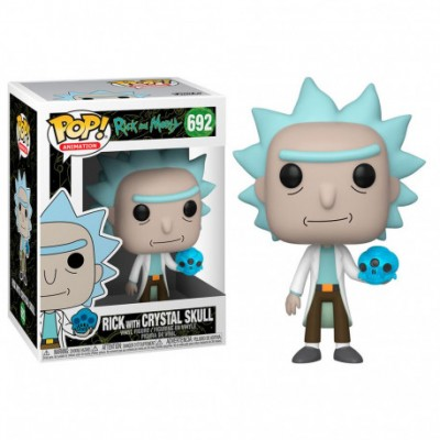 Funko POP! Rick & Morty - Rick w/Crystal Skull