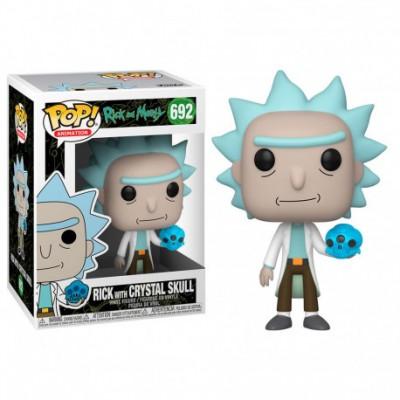 Funko POP! Rick & Morty - Rick w/Crystal Skull