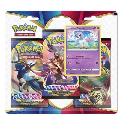 Sword & Shield 3-Booster Blister - Ponyta