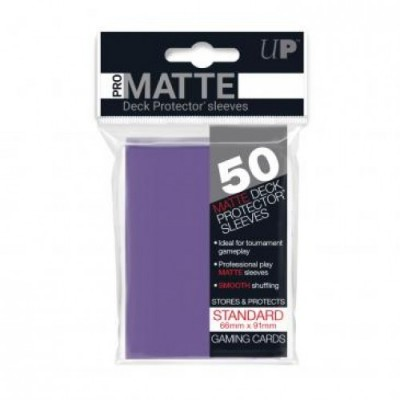 Ultra Pro Sleeves Mat Paars