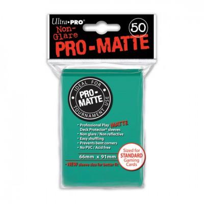 Ultra Pro Sleeves Matte Aqua (50st)