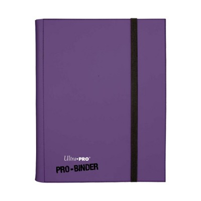 9-Pocket Ultra Pro Binder Purple
